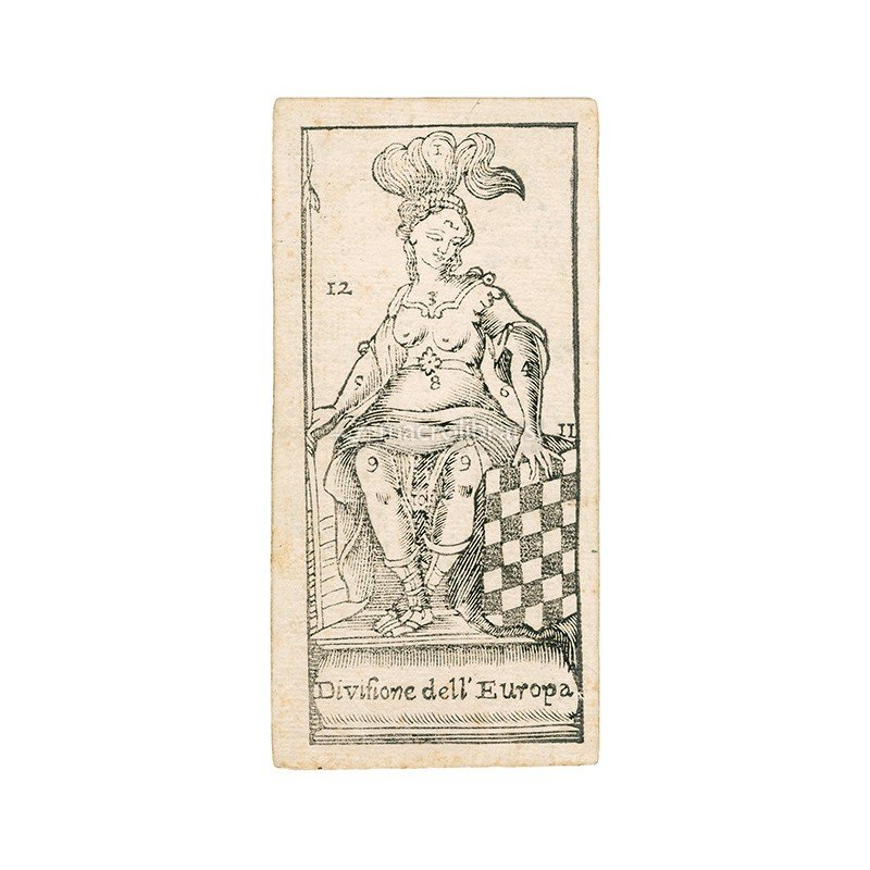 Tarocchino Montieri - Anima Antiqua — Carte