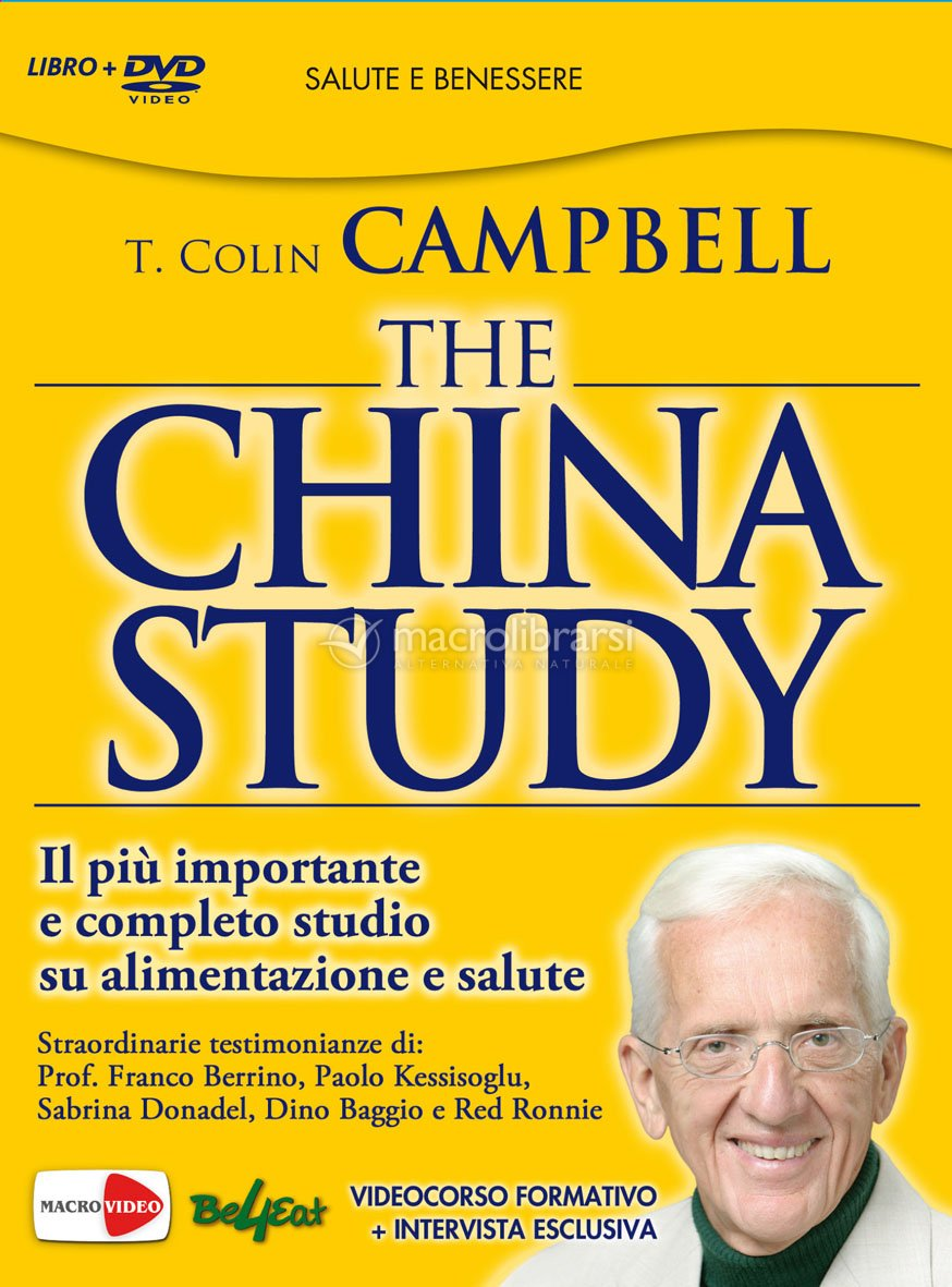 Campbell Colin - China Study - Vegan leben - YouTube