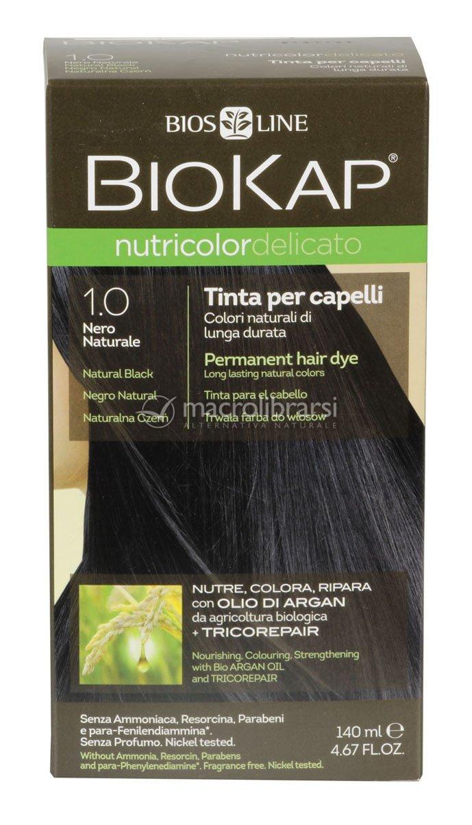 Tinta per capelli biokap delicato bios line for Tinte per capelli non nocive