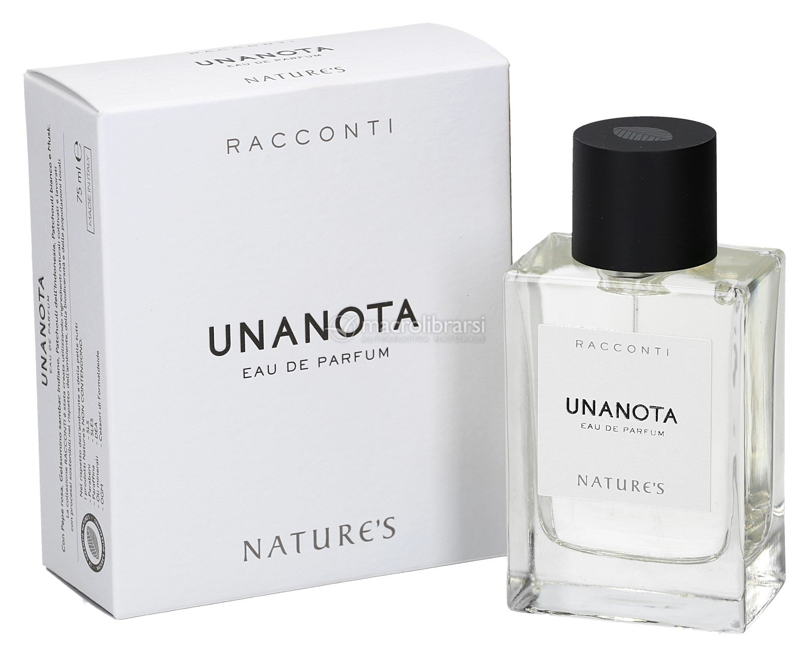 Unanota Eau De Parfum Fragranza Speziata Di Natures