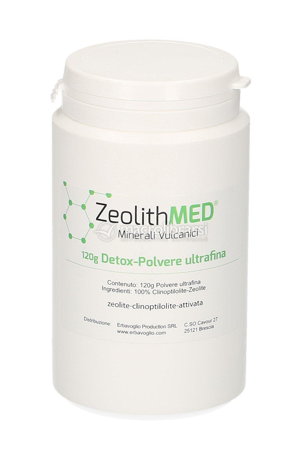 Zeolith Med - Detox - Zeolite in Polvere
