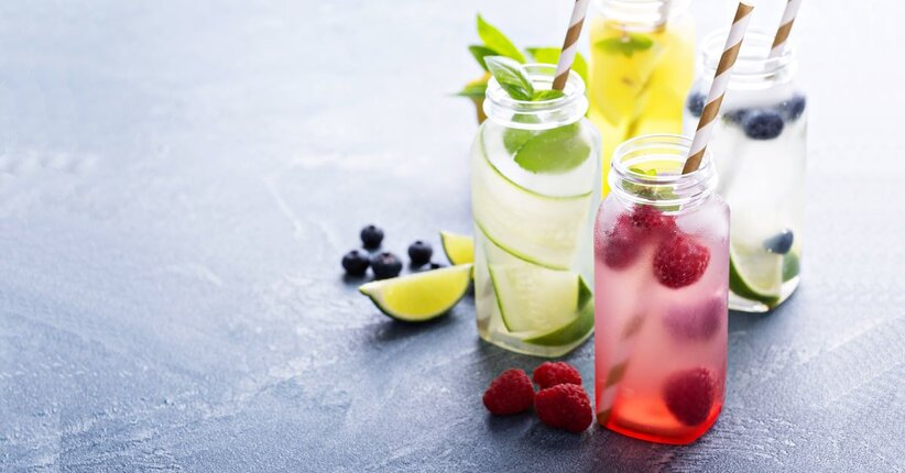 3 ricette di acque aromatizzate