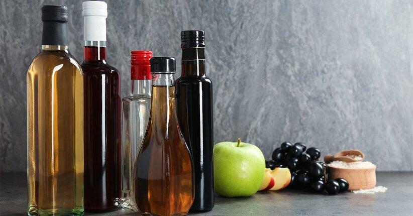 Aceto di mele, balsamico e di vino: come utilizzarli in cucina
