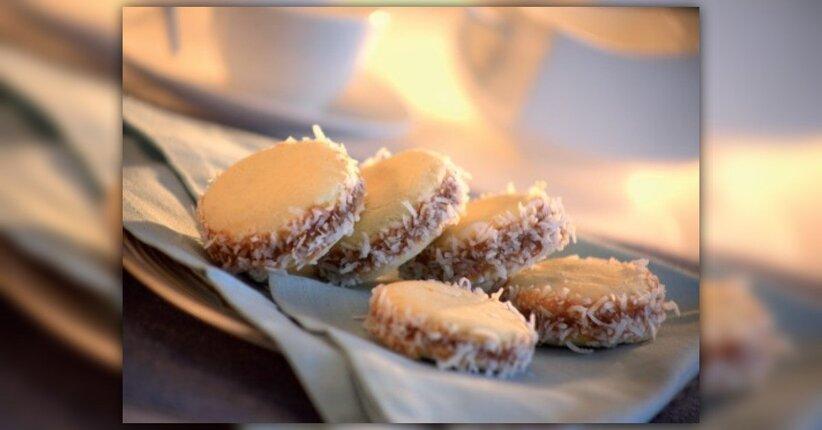 Alfajores - biscotti con dulce de leche