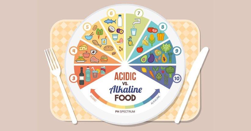 Alimentazione e terapie alcalinizzanti