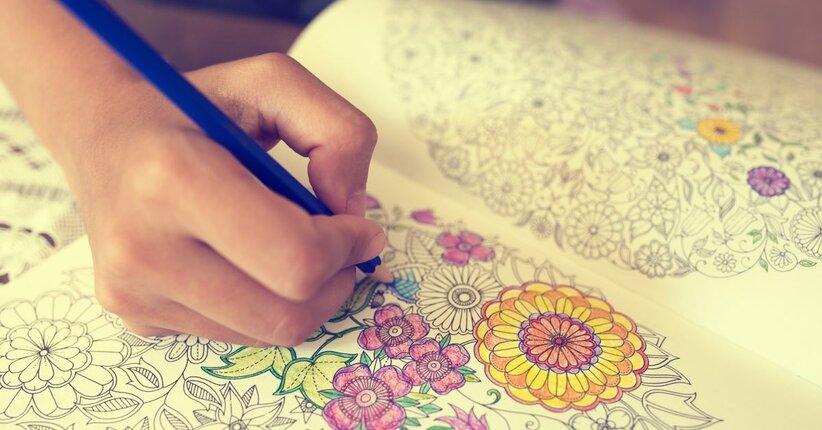 Art Therapy Perché Comprare I Libri Quando Posso Colorare I Miei