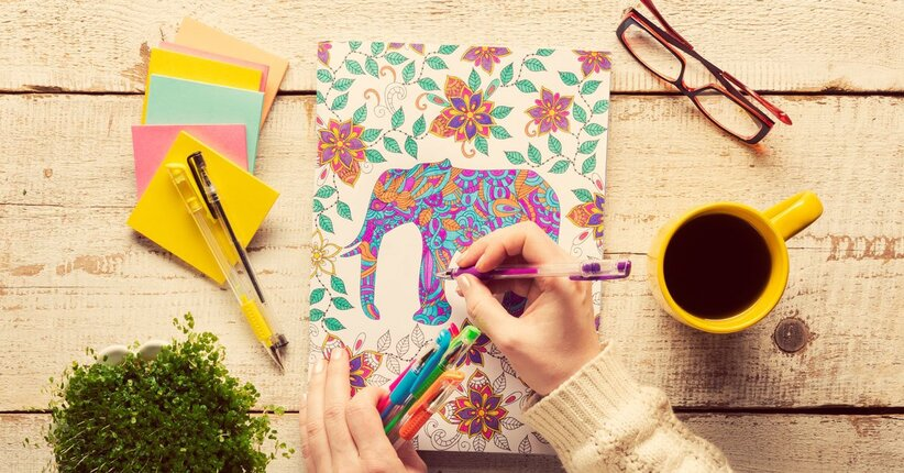 Art Therapy Che Cosa Sono I Libri Da Colorare Per Adulti
