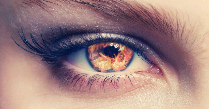 Bruciore agli occhi?  Ecco i rimedi giusti