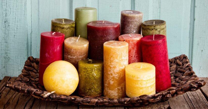Candele naturali: belle, profumate e che fanno bene alla salute