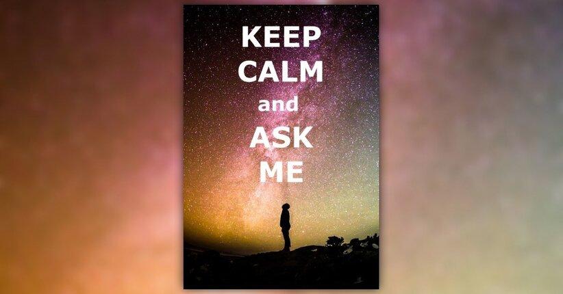 Come chiedere all'esistenza...