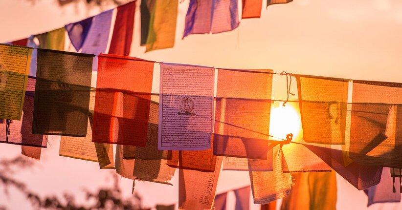 Conosci le bandiere tibetane?