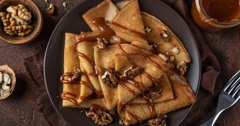 Crepes perfette: la ricetta light, senza zucchero e con 3 ingredienti