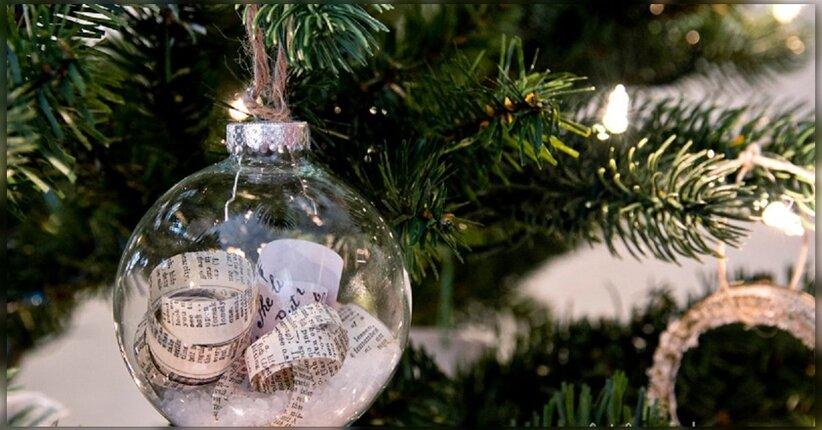 Decorazioni Luminose Natalizie Fai Da Te : Decora il tuo albero di natale con il fai da te