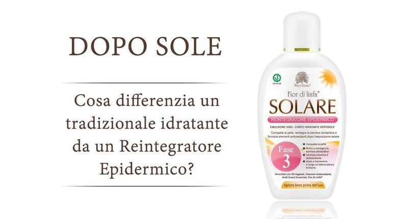 Doposole: Cosa differenzia un tradizionale idratante da un Reintegratore Epidermico?