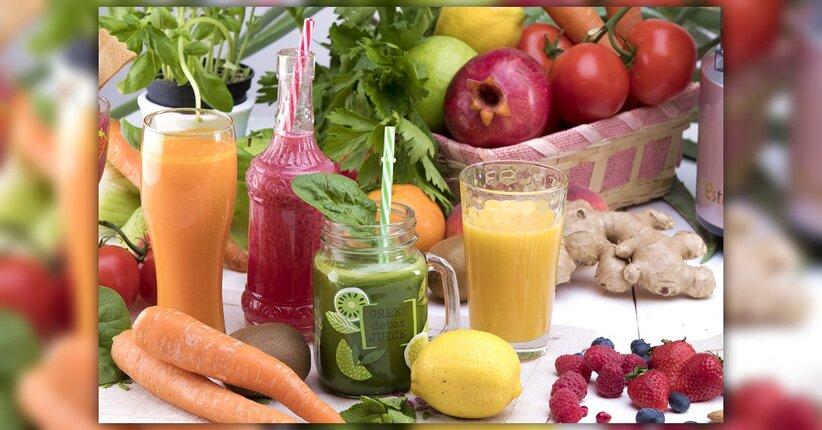 Estate: la stagione dei succhi di frutta!