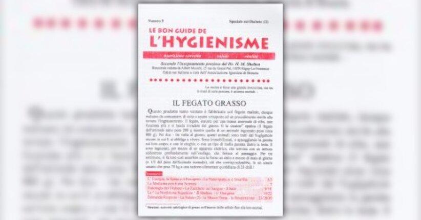 """Fisiologia del diabete - Estratto dal libro """"Le bon guide de l'Hygienisme - Speciale n. 5"""""""