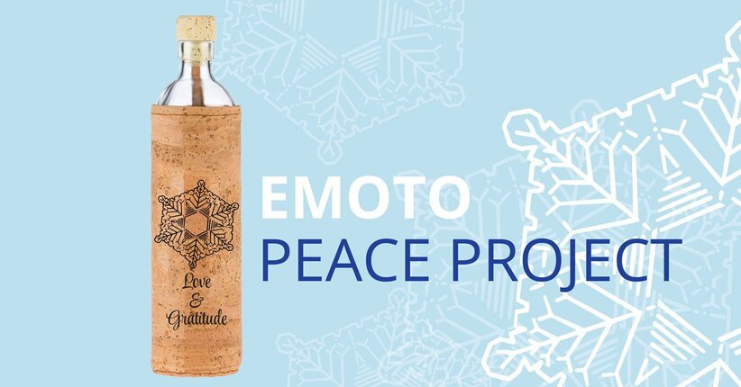 Flaska partner Emoto Peace Project