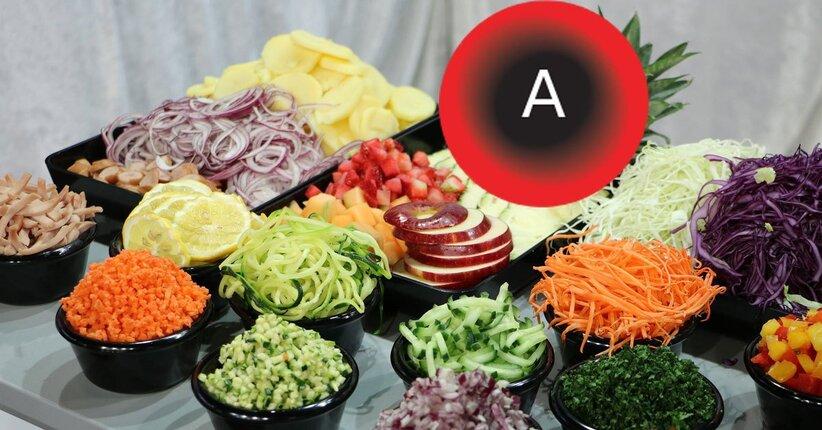 Gli alimenti benefici per il gruppo A della dieta del dottor Mozzi