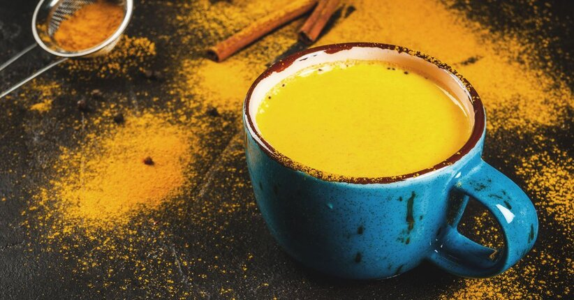 Golden milk: l'oro che fa bene!