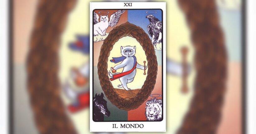 """Il mondo - Estratto dal libro """"I Tarocchi dei Gatti"""" di Aleiandro Jodorowsky"""