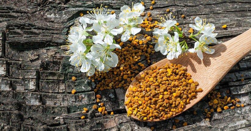 Il polline di api: proprietà e utilizzo