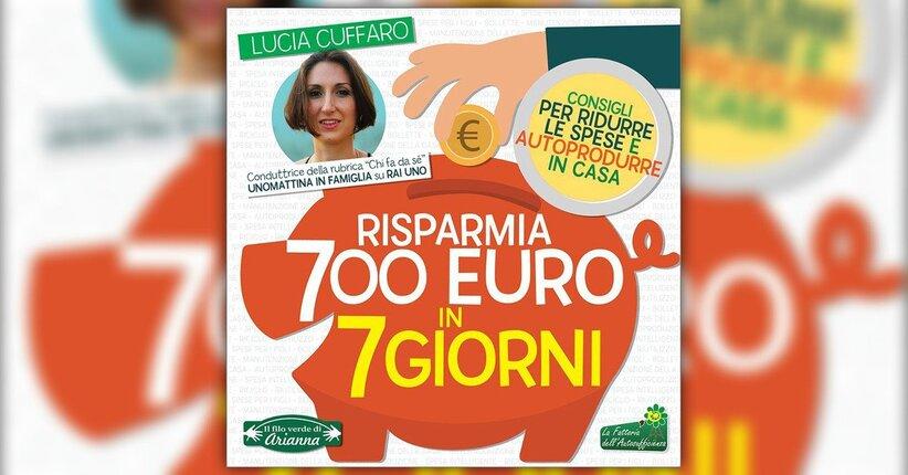 Impara l'arte e mettila da parte - Risparmia 700 Euro in 7 Giorni - Libro di Lucia Cuffaro