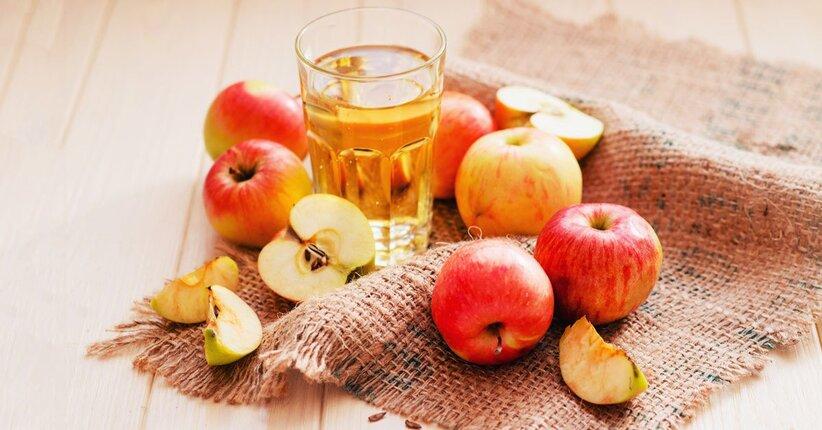succo di mela buono per la prostata