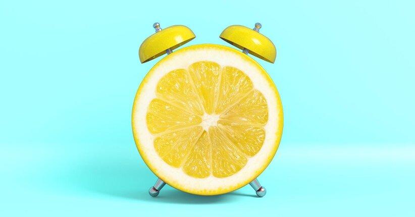 Acqua E Limone La Sera.Appena Svegli Acqua E Limone