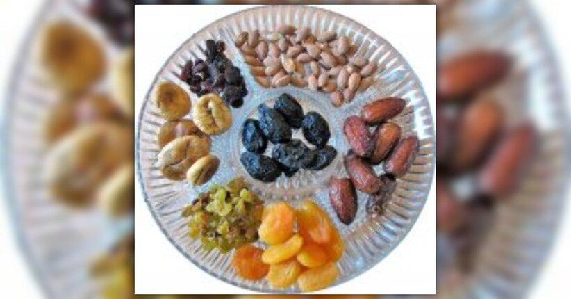 La frutta secca: una ricarica di energia!