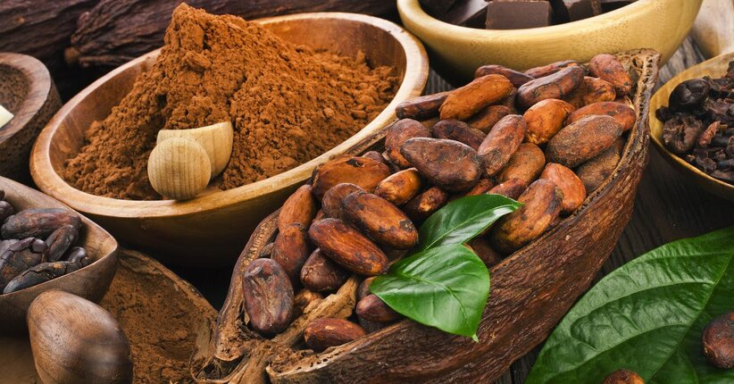 La grande differenza tra cacao crudo e cotto