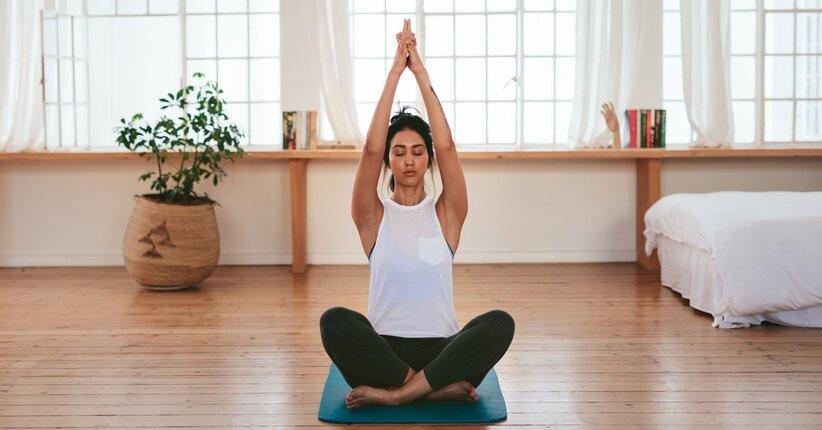 La pratica dello Yoga in casa
