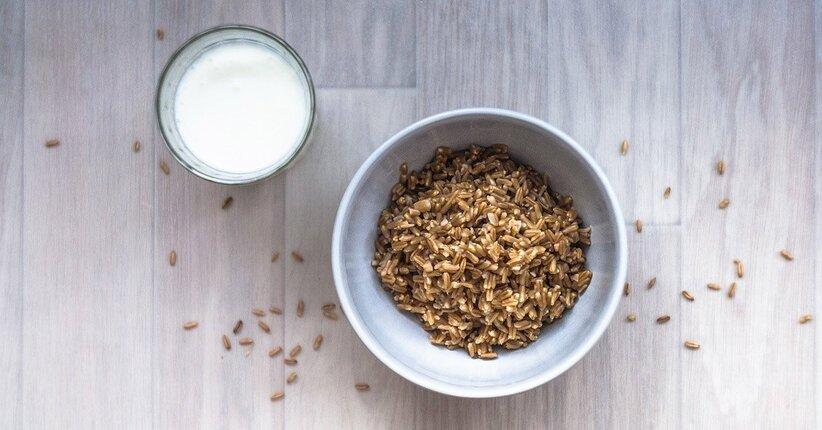Latte di kamut® fatto in casa