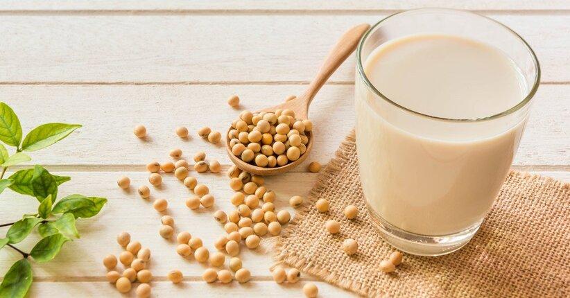 Latte di soia fatta in casa