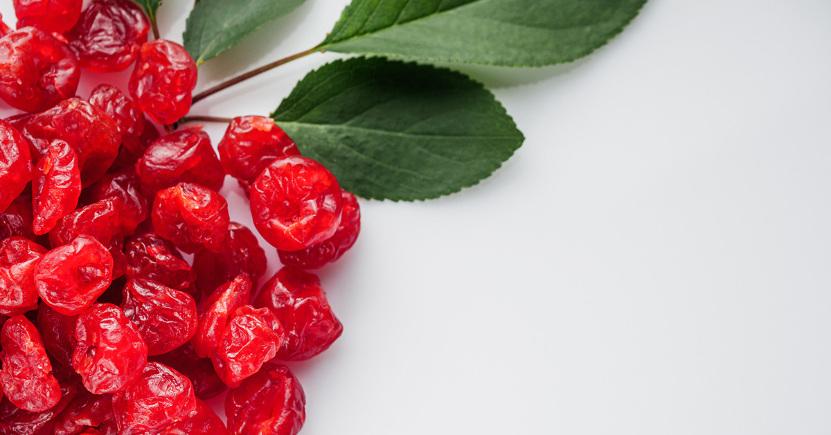 Le ciliegie essiccate