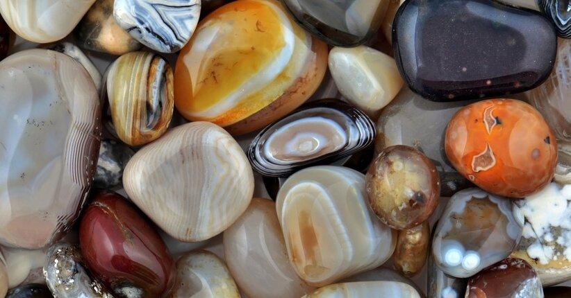 Le proprietà della pietra di agata