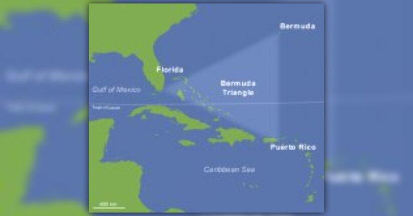 Le rovine sommerse del triangolo delle bermude