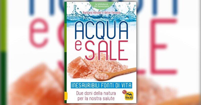 Le virtù salutari dei cristalli di sale in acqua pura