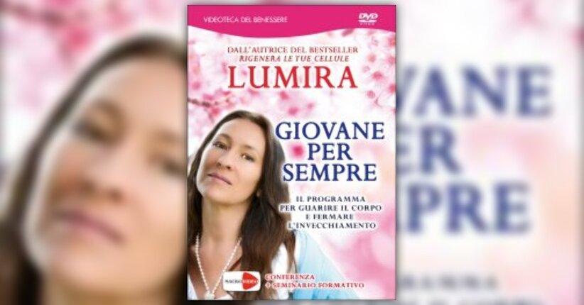 """Lumira presenta il suo DVD """"Giovane per Sempre"""" registrato in occasione di Vivi Benessere 2015"""