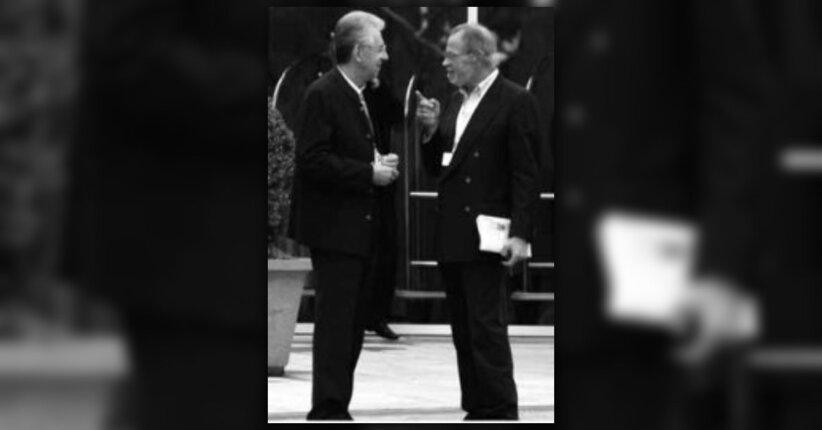 Mario Monti, un pezzo del Club Bilderberg made in Italy