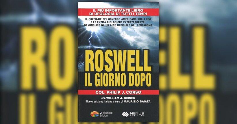 """Mi chiamo Philip Corso - Estratto da """"Roswell - Il Giorno Dopo"""""""
