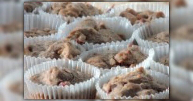 Muffin di Grano Saraceno e Mirtilli Rossi