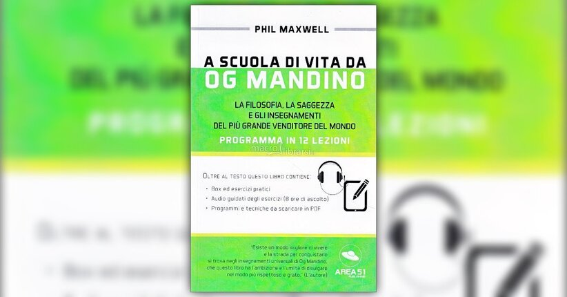"Nota introduttiva al libro ""A Scuola di Vita da Og Mandino"""
