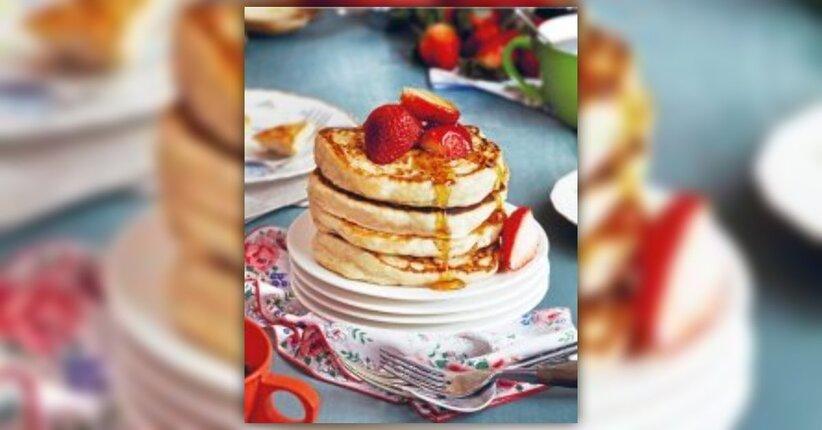 """Pancakes Sofficissimi - Estratto dal libro """"Fai come Isa!"""""""