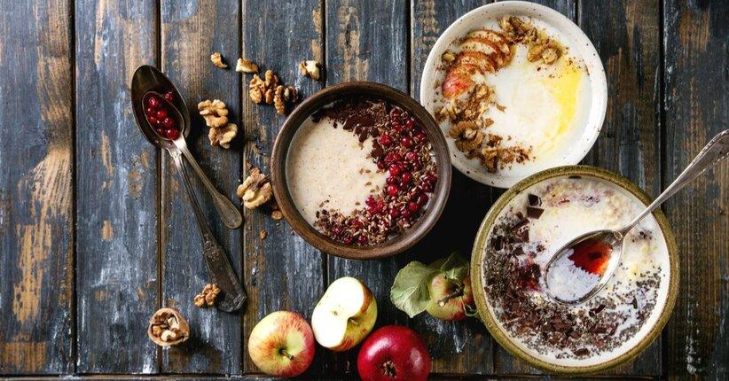 Porridge proteico, 3 ricette da provare