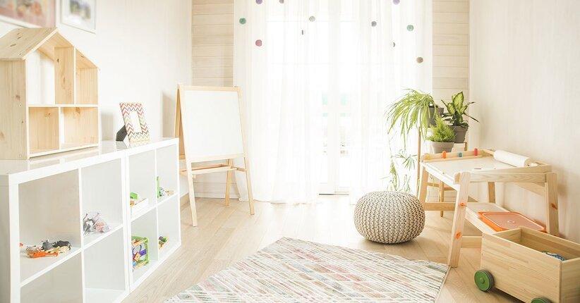 Pulizie aromatiche nella camera dei più piccoli