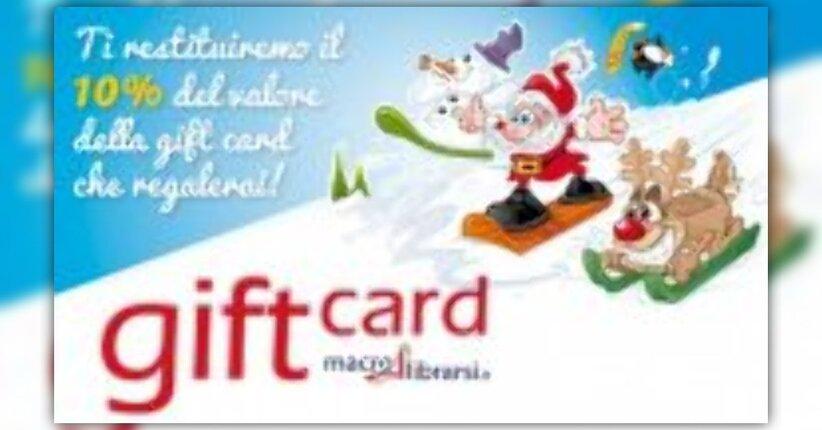 Regalare Gift Card a Natale non è mai stato così conveniente!