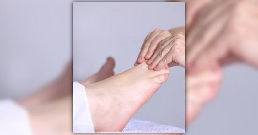 Riflessologia e massaggio plantare