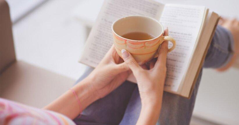 Rilassati… con una tisana e un buon libro