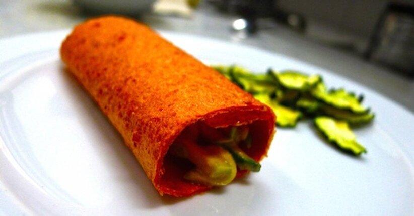 Rotolini di Pomodoro con Zucchine & Tahin