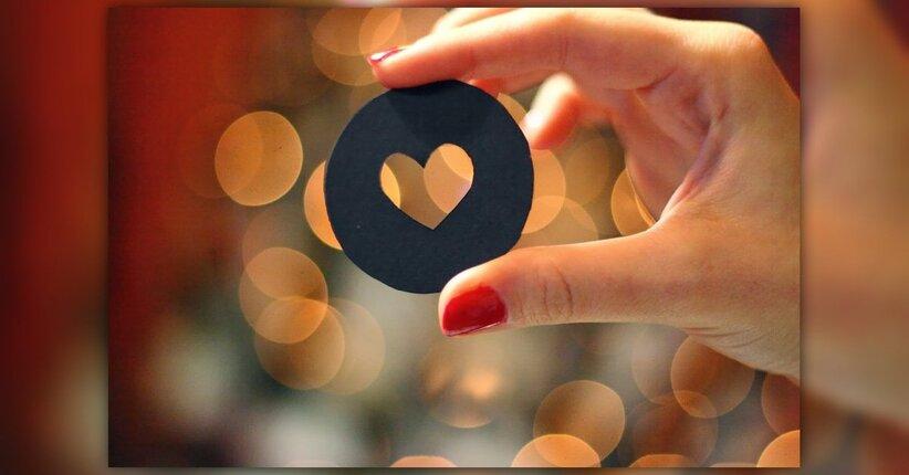 Scegli di vedere la vita attraverso la lente del cuore.